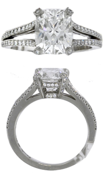 Pear Engagement Ring Settings
