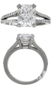 Platinum Diamond Engagement Rings Tiffany